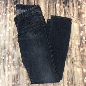 Express Zelda Barely Bootcut Skinny Jeans 10 L